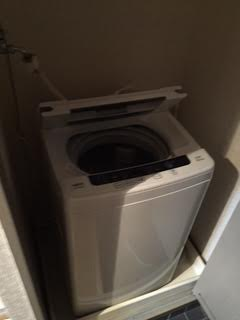 洗濯機解体処分