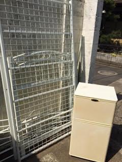 ロフトベッド解体処分、冷蔵庫回収処分墨田区