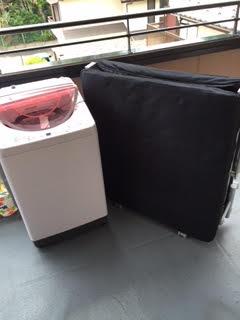 洗濯機、折りたたみベッド回収処分